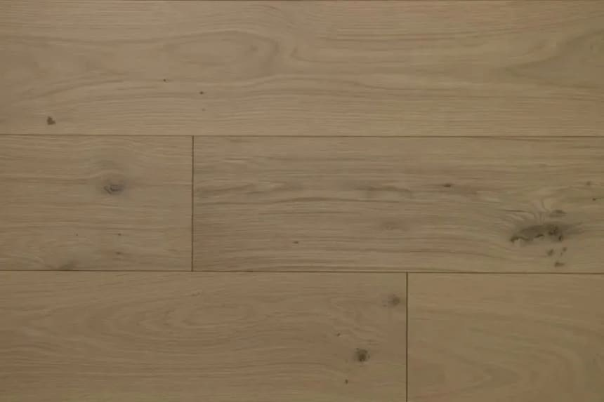 Natural Engineered Flooring Oak Non Visible UV Oiled 15/4mm By 250mm By 1800-2200mm