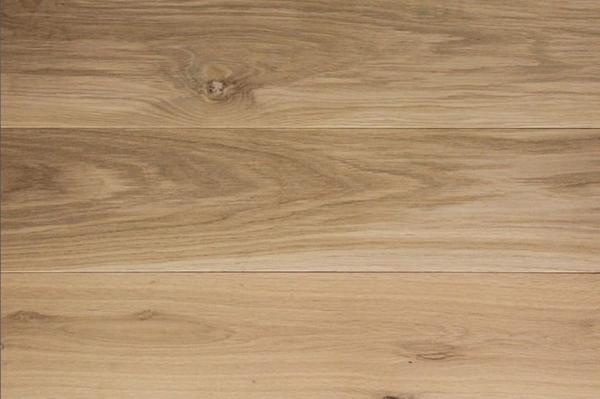 Natural Solid Flooring Oak Unfinished 20mm By 160mm By 500-1900mm