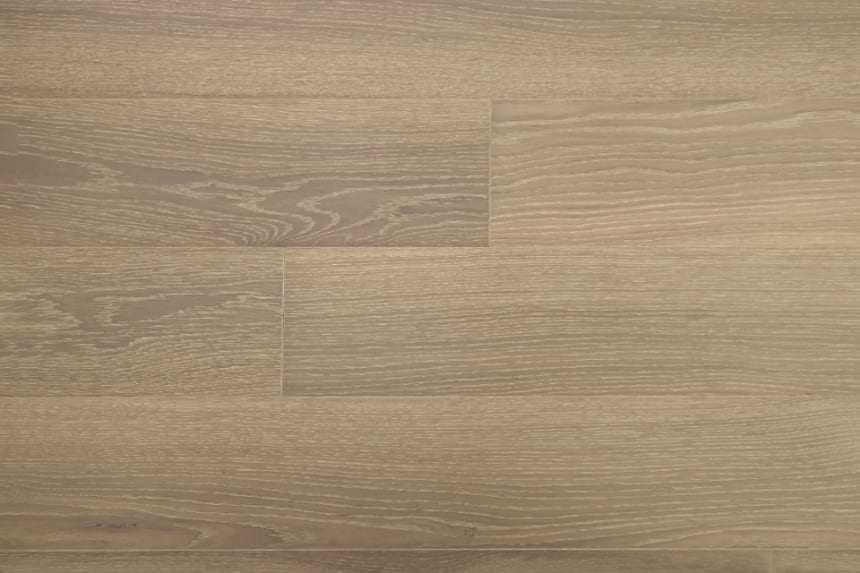 Prime Engineered Flooring Oak Click Polar White Brushed UV Matt Lacquered 14/3mm By 146mm By 800-1805mm
