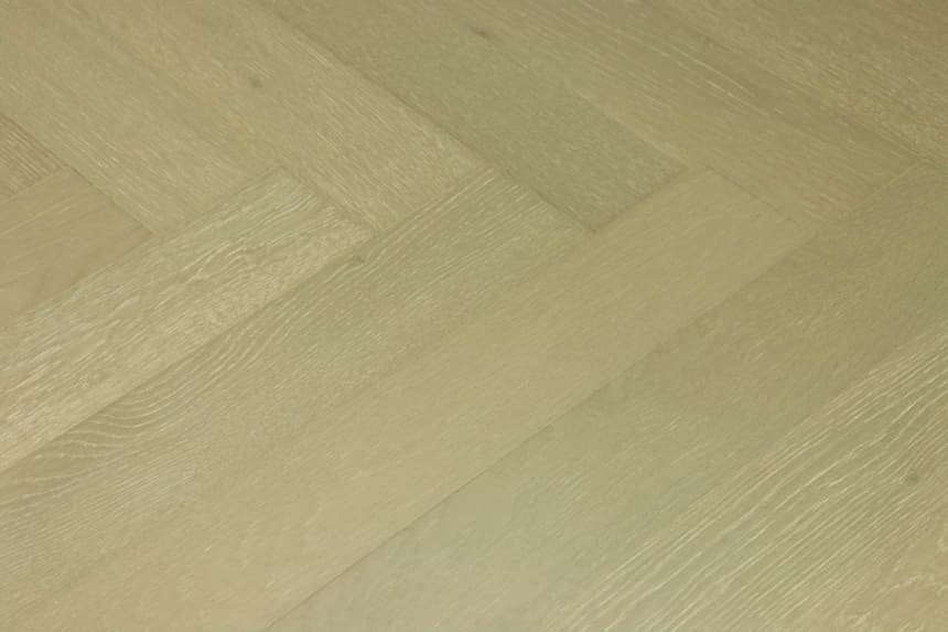 Prime Engineered Flooring Oak Herringbone Barcelona Brushed UV Matt Lacquered 14/3mm By 98mm By 790mm
