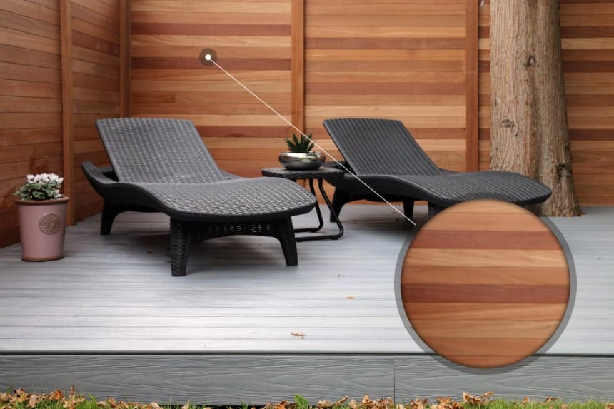 Red Balau T&G Fence Planks 19mm By 90mm By 1219mm