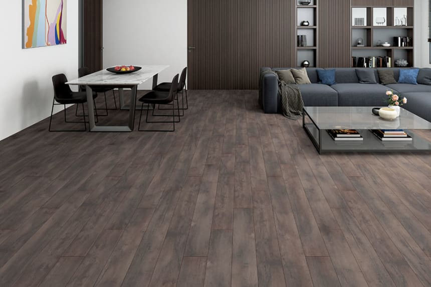 Rembrant Oak Laminate Flooring 12mm By 159mm By 1380mm
