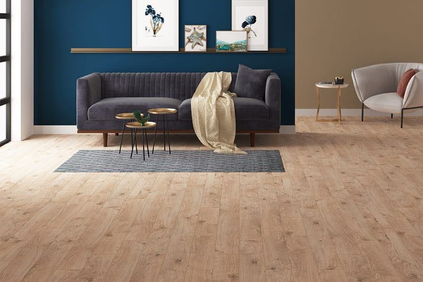Rhodes Oak Laminate Flooring 12mm By 159mm By 1380mm