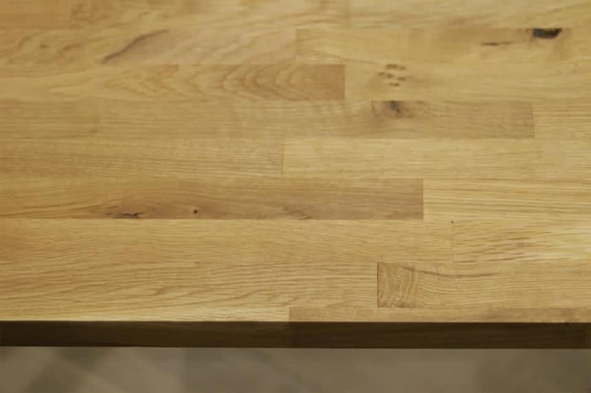 Rustic Oak Worktop 18mm By 1000mm By 2850mm