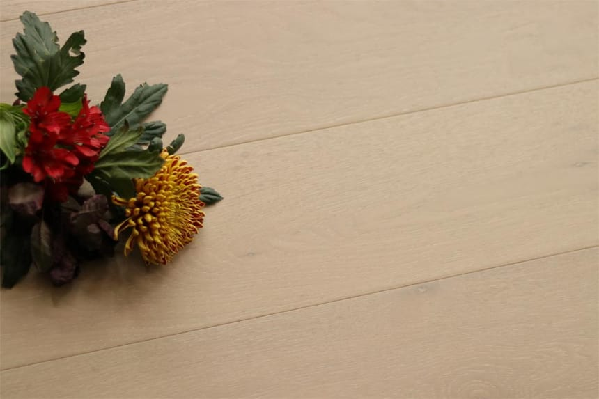 Select Engineered Flooring Oak Click Barcelona Brushed UV Oiled 14/3mm By 190mm By 1900mm