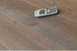 Select Engineered Oak Dark Cocoa Brushed UV Oiled 14/3mm By 190mm By 1900mm