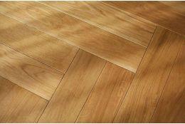 Prime Engineered Oak Herringbone Brushed UV Oiled 15/4mm By 90mm By 600mm