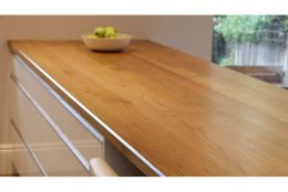 Full Stave Select Oak Worktop Elite 38mm By 950mm By 2800mm
