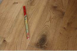 Natural Engineered Oak UV Lacquered 20/6mm By 242mm By 2000-2350mm