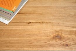 Natural Solid Oak UV Lacquered 20mm By 140mm By 300-1200mm