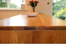 Full Stave Premium Oak Worktop 40mm By 620mm By 2950mm