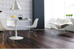 Select Engineered Flooring Oak Click Thermo Brushed UV Oiled 14/3mm By 190mm By 800-1900mm