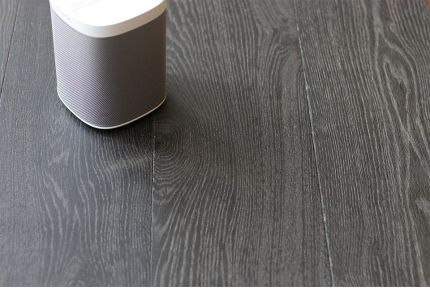 Select Engineered Oak Dark Paloma Brushed UV Oiled 14/3mm By 190mm By 1900mm