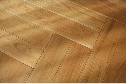 Prime Engineered Oak Herringbone Brushed UV Oiled 15/4mm By 90mm By 600mm