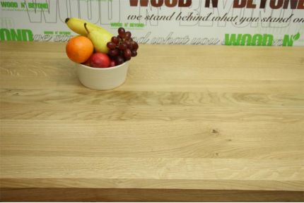 Full Stave Rustic American Oak Worktop 38mm By 620mm By 3000mm