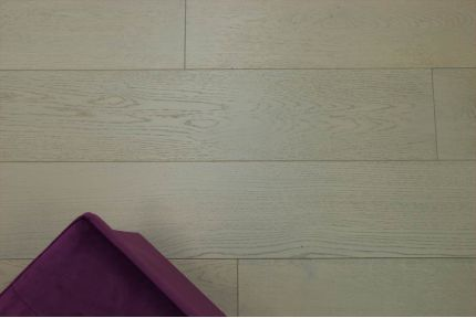 Natural Engineered Oak Paris White UV Oiled 14/3mm By 190mm By 400-1500mm