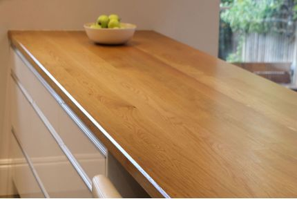 Full Stave Select Oak Worktop Elite 36mm By 620mm By 2500mm
