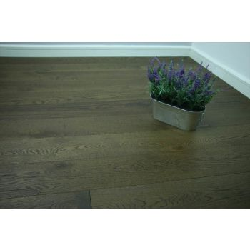 Natural Engineered Oak Coffee Brushed UV Oiled 14/3mm By 190mm By 400-1500mm