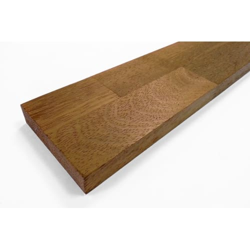 Premium Iroko Kitchen Worktop Upstand 18mm By 80mm By 4000mm