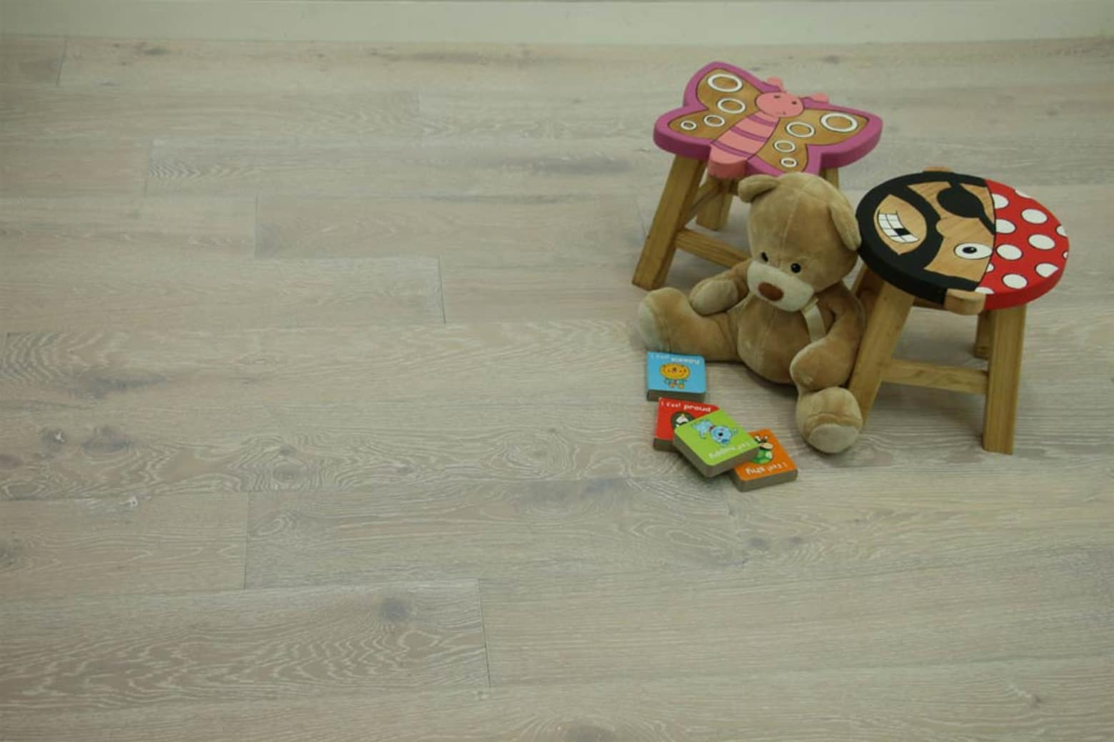 Natural Engineered Flooring Oak Sunny White Brushed UV Oiled 14/3mm By 150mm By 400-1500mm