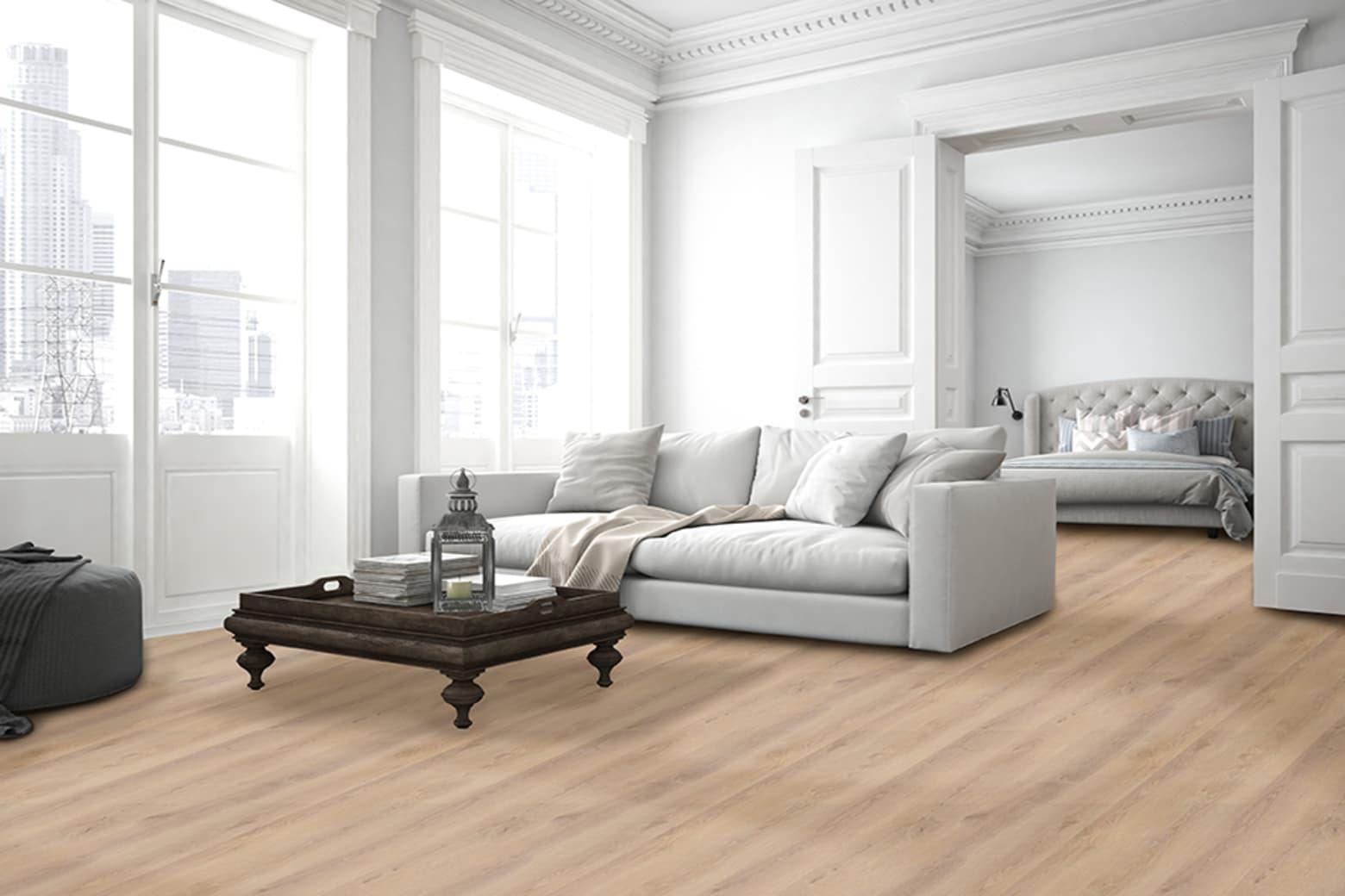 Luxury Click Vinyl Flooring Br White Oak 5mm By 169mm By 1210mm