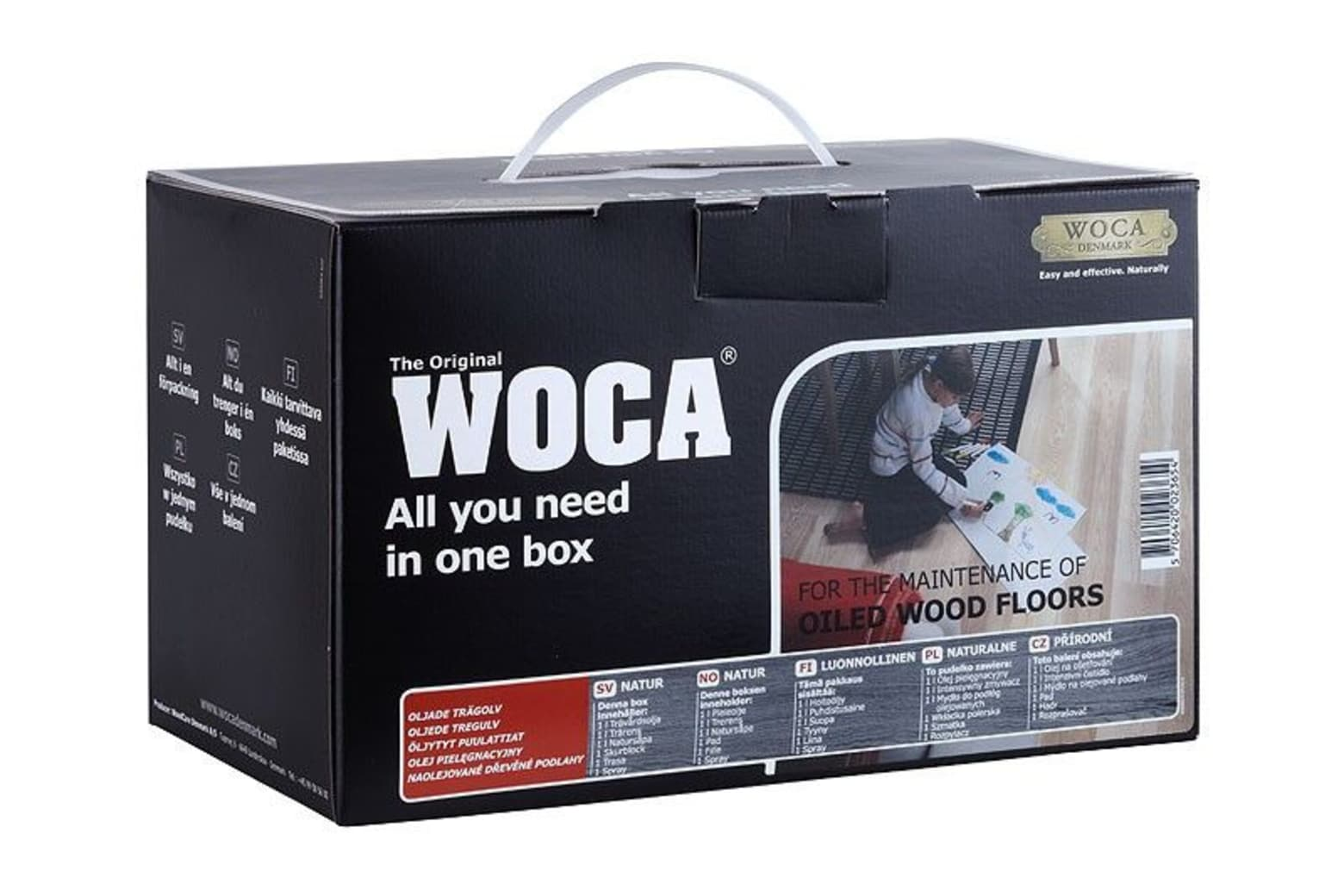 WOCA Maintenance Box Natural for Oiled Floors