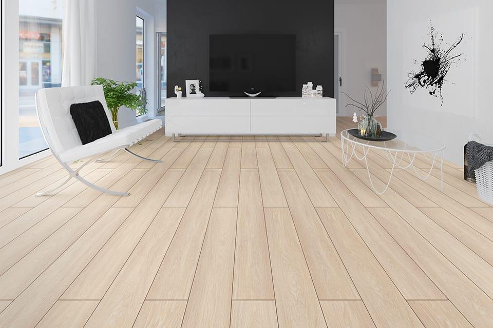 Mountain Light Oak Laminate Flooring 8mm By 193mm By 1380mm