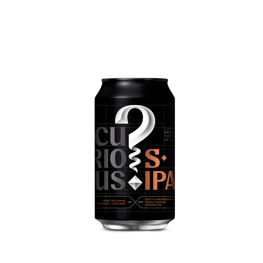 Curious Session IPA - 12 Can Case