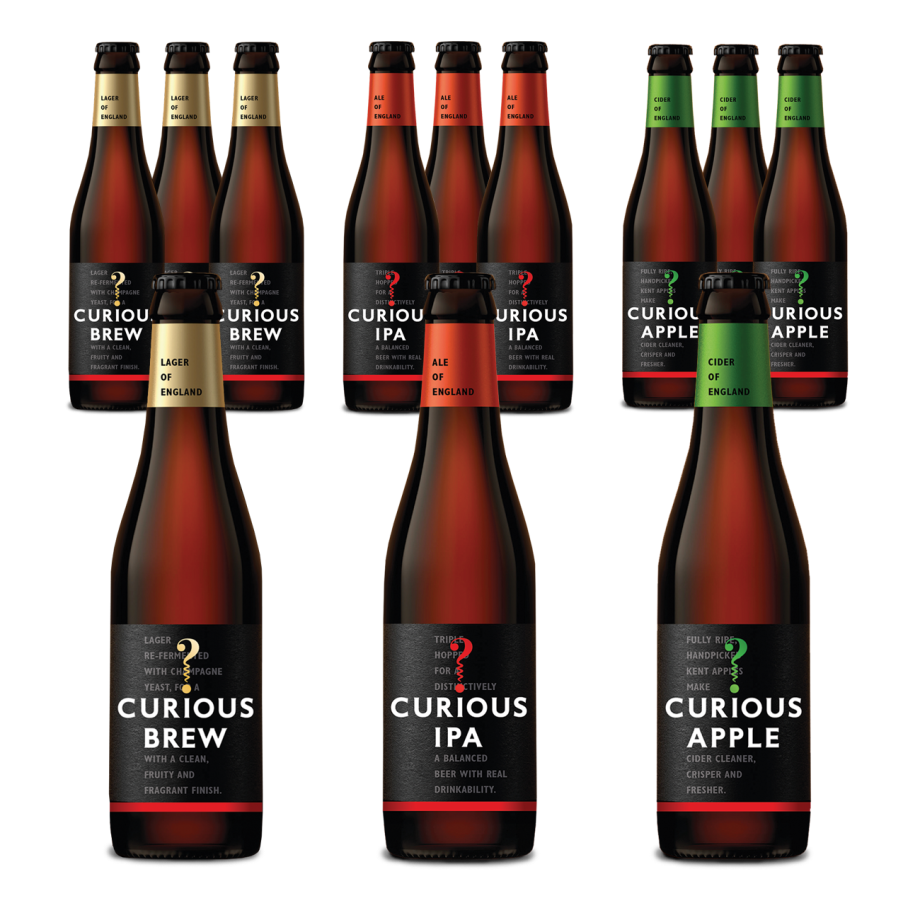 Curious Tasting Case 12 bottles
