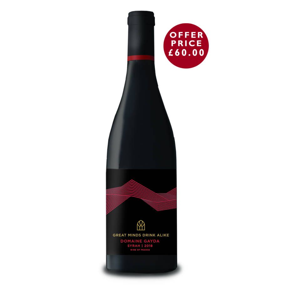 No'4. Syrah 2018 By Domaine Gayda - 6 bottles for £60.00