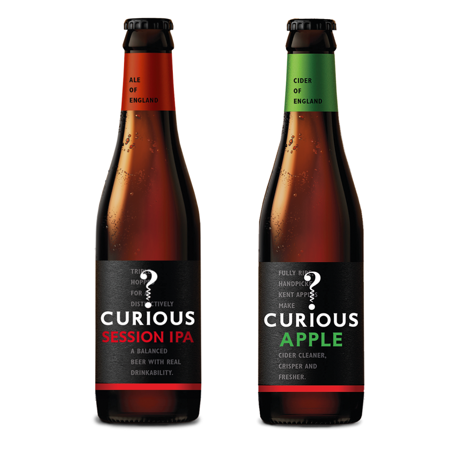 Curious Session IPA & Curious Apple mixed case