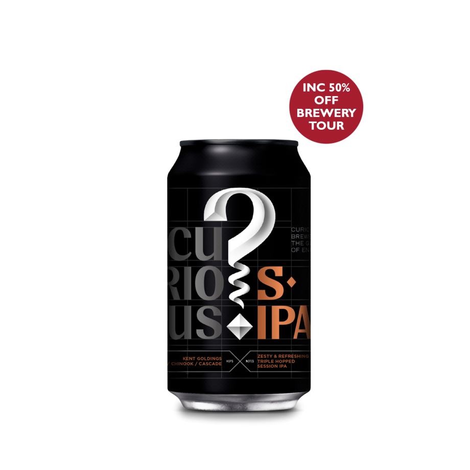 Curious Session IPA - Buy 20 Cans Get 4 Free