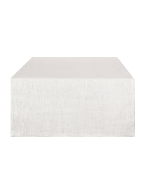 Angelica Home & Country RUNNER LUREX - Runner color crema Cm. 50 x 120