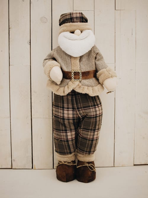Babbo Natale stile country