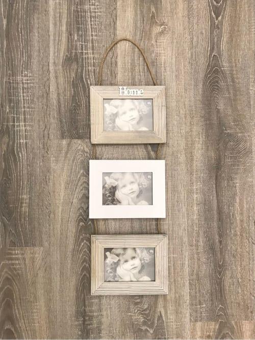 Portafoto family a tre in legno - Lorenzongift