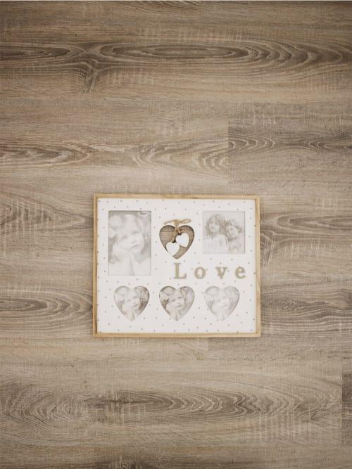 Porta foto family con la scritta love di Lorenzongift
