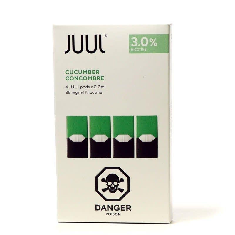 Cucumber Juul Pods 4pk - 3%