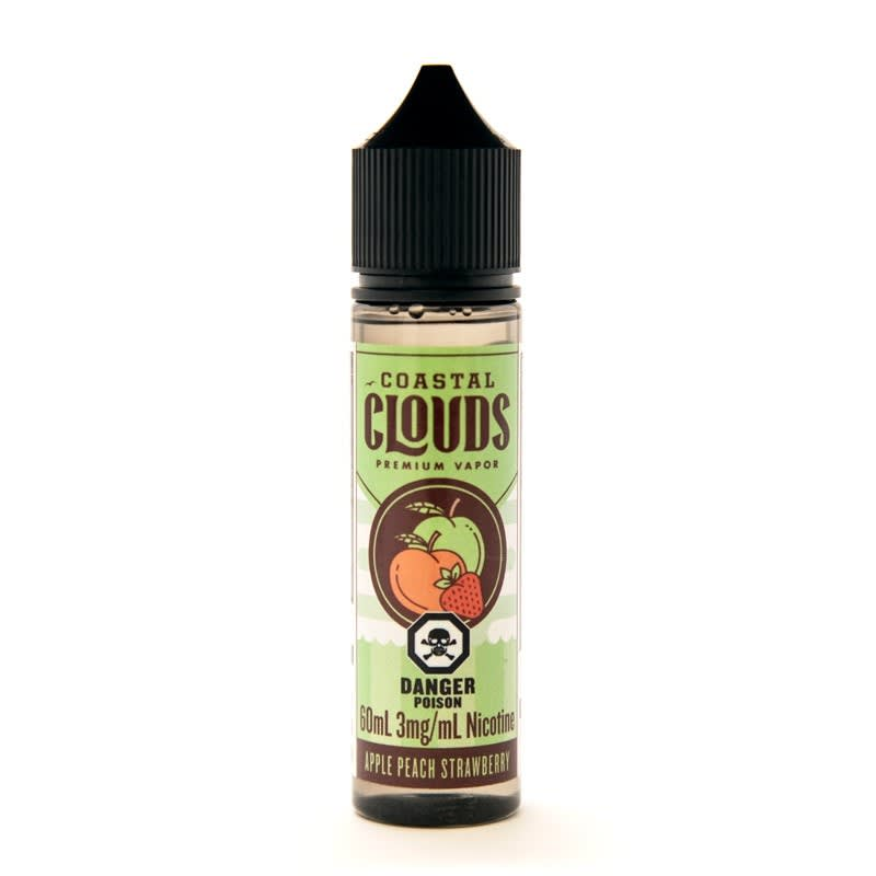 Apple Peach Strawberry E-Liquid by Coastal Clouds - 60mL