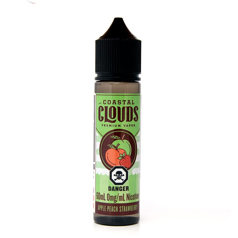 Apple Peach Strawberry E-Liquid by Coastal Clouds - 60mL