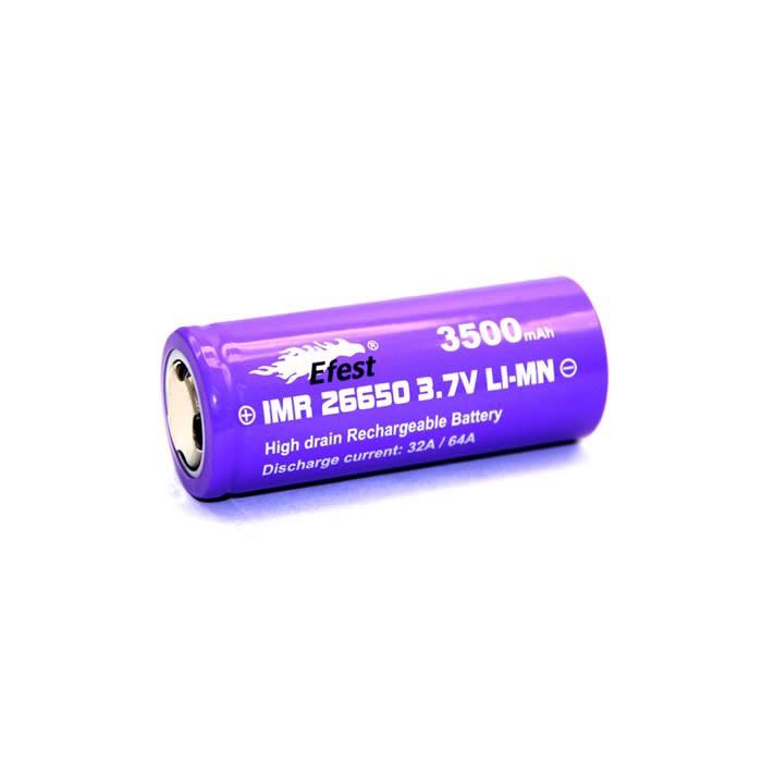Efest 26650 IMR Battery - 3500 mAh