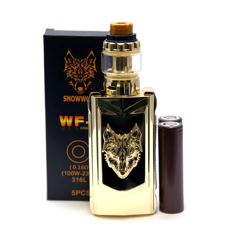 Sigelei Snowwolf MFENG Kit Gold Bundle