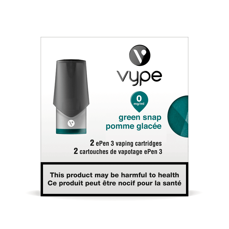 Vype ePen 3 Green Snap Cartridges (2pk)