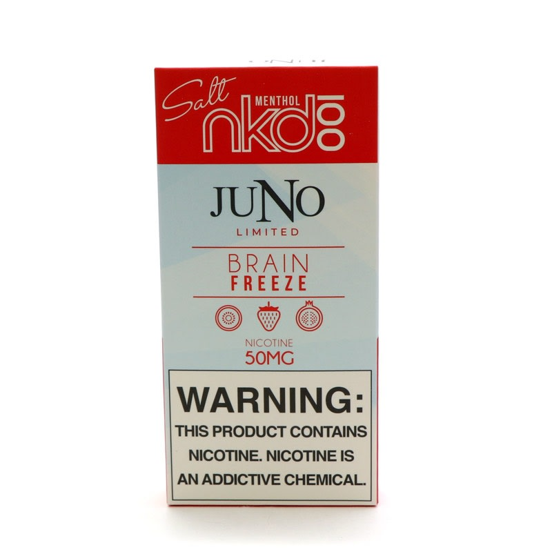 Juno Pods: Naked 100 Salt - Brain Freeze (4pk)