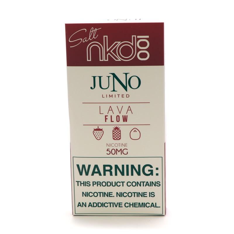 Juno Pods: Naked 100 Salt - Lava Flow (4pk)