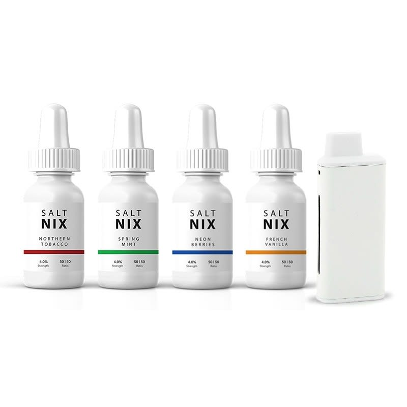 Nicotine Salt Bundle - 4x Salt Nix, iCare