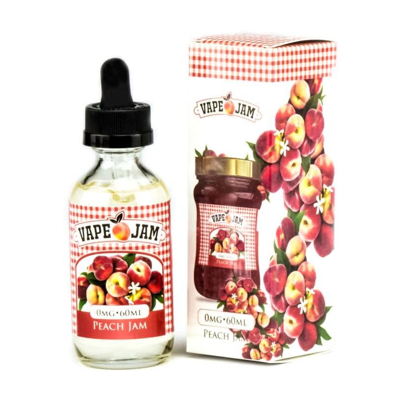 Peach Jam E-Liquid by Vape Jam - 60ml