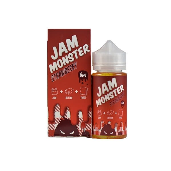 Strawberry Jam Monster E-Liquid - 100ml