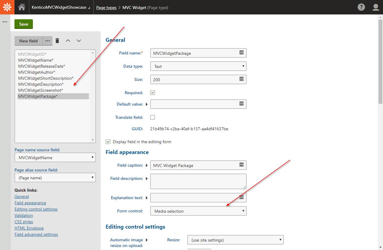 MVC Page Type 2