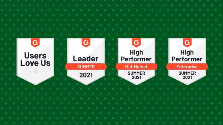 Kentico Xperienceは、DXPのG2 Summer2021レポートで最高の満足度スコアを獲得しました