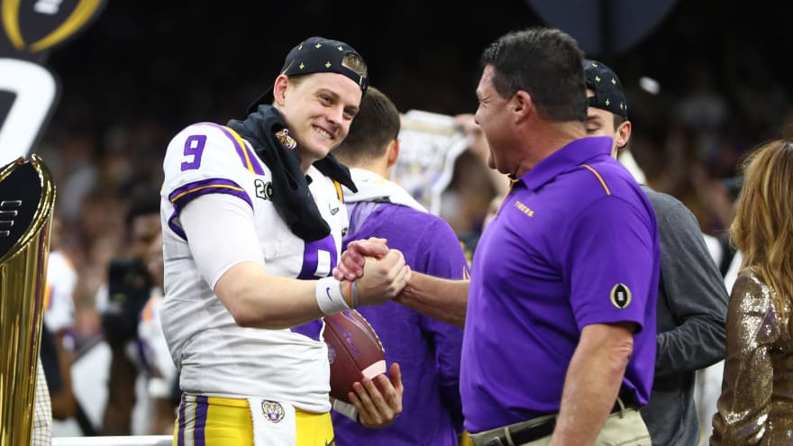 Kirk Herbstreit critical of way Joe Burrow, LSU handled themselves after win